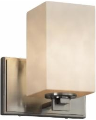 Justice Design Group Clouds 7 Inch Wall Sconce - CLD-8441-15-NCKL