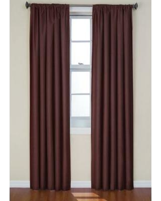 Eclipse™ Chocolate Kendall Blackout Window Curtain Panel