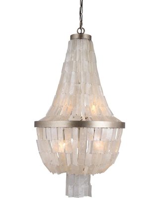 Rockies Containers 3-Light Silvery Gold Chandelier