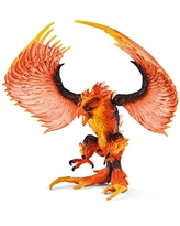 SCHLEICH Eldrador Fire Eagle Toy Action Figure for Kids Ages 7-12