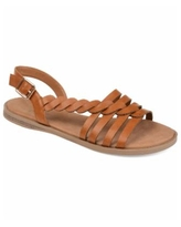 Journee Collection Women's Solay Sandals - Tan