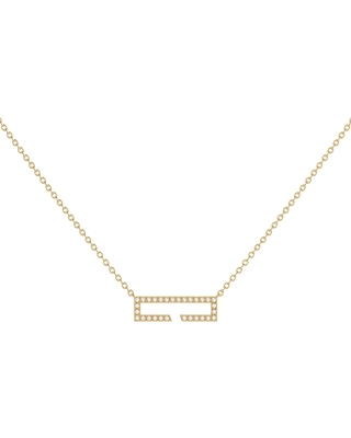 LMJ - Swing Necklace In 14 Kt Yellow Gold Vermeil On Sterling Silver