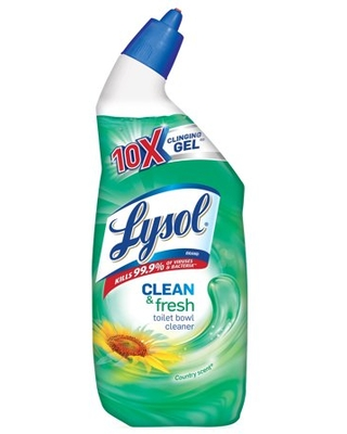 Lysol Clean and Fresh Toilet Bowl Cleaner, Country Scent, 24 Fluid Ounce