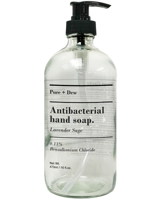 Pure and Dew Lavender Sage Antibacterial Liquid Hand Soap by World Market