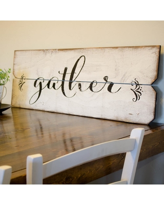 "BOULDER INNOVATIONS 12 in. x 36 in. ""Gather"" By Printed Wall Art"