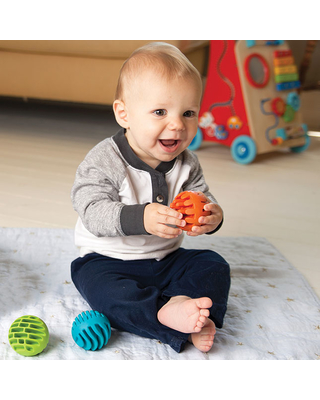 Sensory Rollers - Baby Toys & Gifts for Babies - Fat Brain Toys