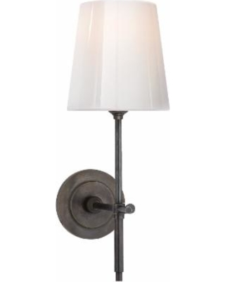 Visual Comfort and Co. Thomas O'Brien Bryant 5 Inch Wall Sconce - TOB 2022BZ-WG