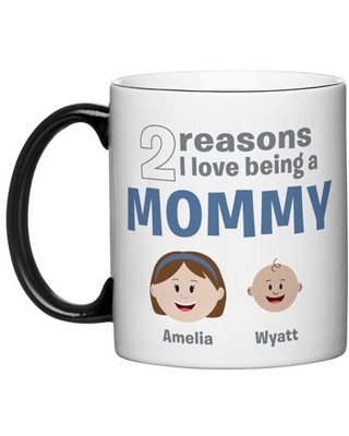 Personalized All The Reasons Why™ Coffee Mug - Available in 2 Sizes
