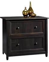 Edge Water Lateral File Cabinet - Estate Black - Sauder