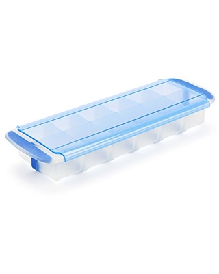 GoodCook , Prep and Freeze Stackable, Easy Release Silicon Cube Tray, 2-ounce Ice Cubes, Baby Food, Herb Butter, Cold Brew Cubes
