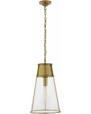 Visual Comfort and Co. Thomas O'Brien Robinson 11 Inch Mini Pendant - TOB 5753HAB-CG