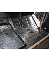 HushMat 661602 Sound and Thermal Insulation Kit (1960-1976 Mopar A Body Valiant - Firewall)