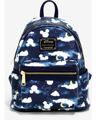 94ddccbceb1 Loungefly Disney Mickey Mouse Clouds Mini Backpack - BoxLunch Exclusive