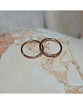 Get Ahold Of Fantastic Deals On Nose Ring Solid Gold Nose Piercing Cartilage Earring Cartilage Piercing Tragus Ring Helix Jewelry 20g
