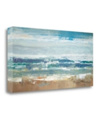 "Tangletown Fine Art Pastel Waves by Peter Colbert Fine Art Giclee Print on Gallery Wrap Canvas, 47"" x 24"""