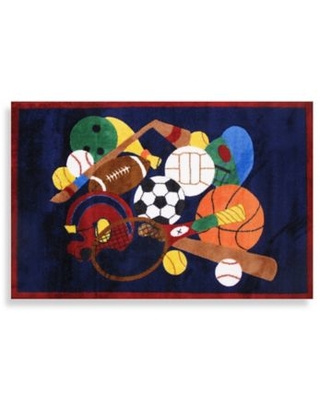 Fun Rugs® Sports America 3-Foot 3-Inch x 4-Foot 10-Inch Accent Rug
