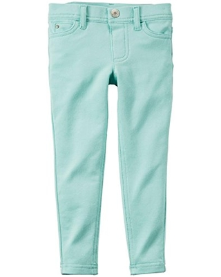 Carter's Baby Girls' Jeggings - Turquoise - 3 Months