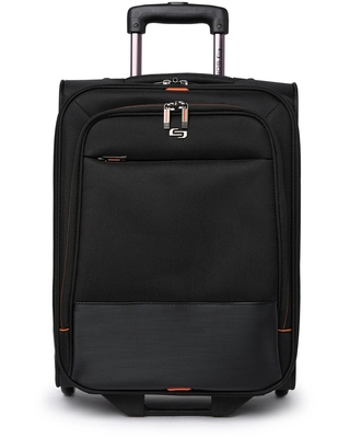 SOLO NEW YORK Urban Rolling Overnighter Suitcase in Black at Nordstrom Rack