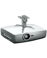 Mount-It! Projector Ceiling Mount for Epson, Optoma, Benq, ViewSonic LCD/DLP Projectors, Silver (MI-605),Size: small