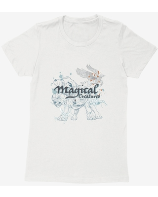 Harry Potter Magical Creatures Womens T-Shirt