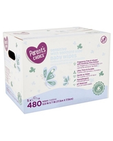Parent's Choice Sensitive with Soothing Aloe Baby Wipes, 5 packs of 96 (480 count)