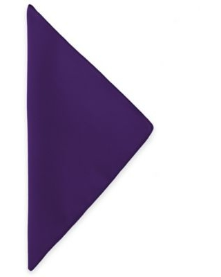 Basic Polyester Napkins in Purple (Set of 4)