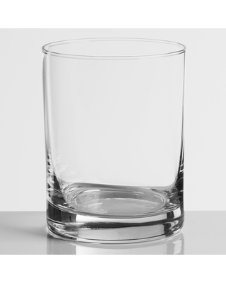 Heavy Sham Double Old Fashioned Glasses Set of 4 by World Market