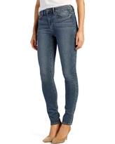 Women's Paige Transcend - Hoxton High Rise Ultra Skinny Jeans, Size 24 - Blue