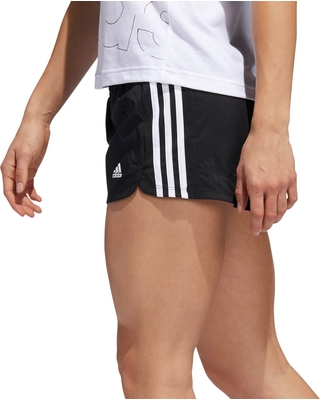 e2af03f9df Check Out These Major Bargains  Adidas Women s Pacer 3-Stripes Woven ...