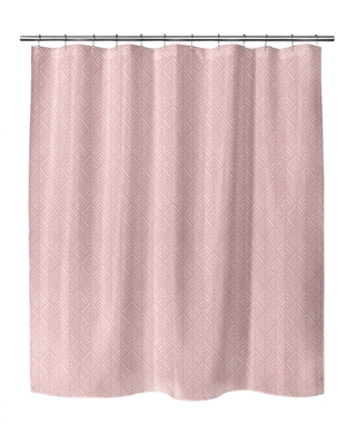 ABSTRACT LEAF PINK Shower Curtain By Kavka Designs (N/A - N/A)