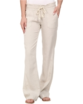Roxy Ocean Side Pant (Stone) Women's Casual Pants