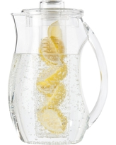 Prodyne Fruit Infusion Pitcher, Clear