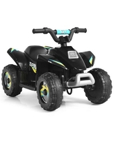 Costway 6V Kids Electric Quad ATV 4 Wheels Ride On Toy Toddlers