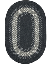 Shopping Special For Home Decorators Collection Chancery Navy 4 Ft X 4 Ft Round Braided Area Rug Blue