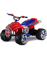 Kid Trax Spiderman Power Atv 12V Electric Ride on, Red