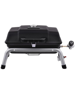 Char-Broil Black 9500-BTU 240-sq in Portable Gas Grill Stainless Steel   18402082