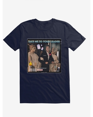 Doctor Who The Tenth Doctor Take Me To Your Leader T-Shirt