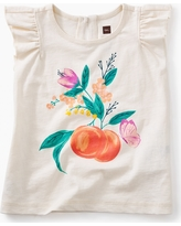 Tea Collection Peach Baby Graphic Tee