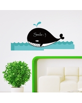 Deals For Whale Family Wall Animals Chalkboard Stickers