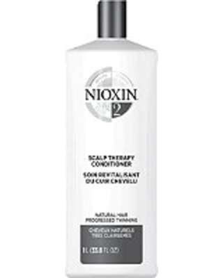 Nioxin Scalp Therapy Conditioner, System 2 (Fine/Progressed Thinning, Natural Hair)