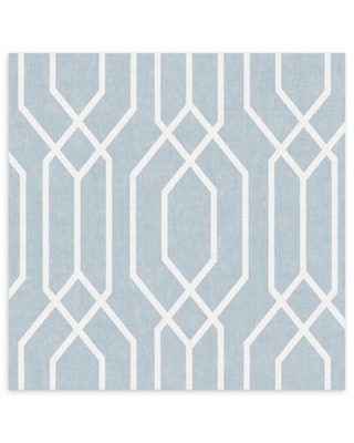 Arthouse New York Geo Wallpaper in Teal