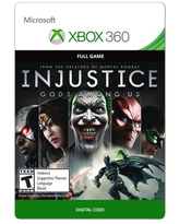 Xbox 360 Injustice: Gods Among Us (Email Delivery)