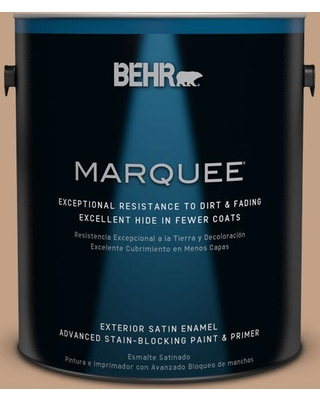 BEHR MARQUEE 1 gal. #S240-5 Poncho Satin Enamel Exterior Paint and Primer in One