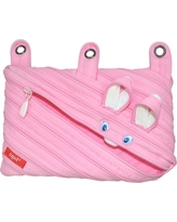 Zipit Animals 3 Ring Pouch - Bunny