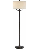 Quoizel Vivid Collection Broadway Oil Rubbed Bronze Floor Lamp