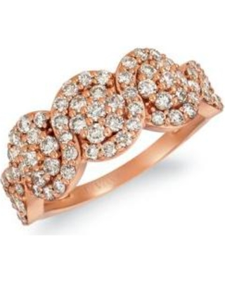 Le Vian Strawberry Gold Creme Brulee 1/3 ct. t.w. Nude Diamonds™ Ring in 14K Strawberry Gold