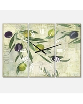 Remarkable Deals On Oversized Olives De Nice Wall Clock East Urban Home Size Large