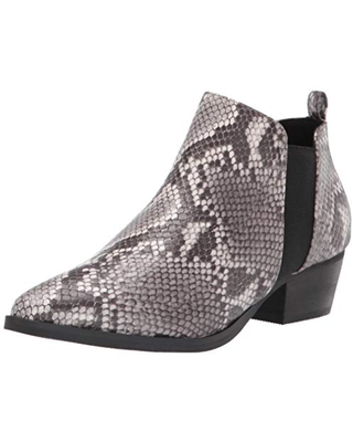 Report Women's Bootie Ankle Boot, Grey Multi, 11