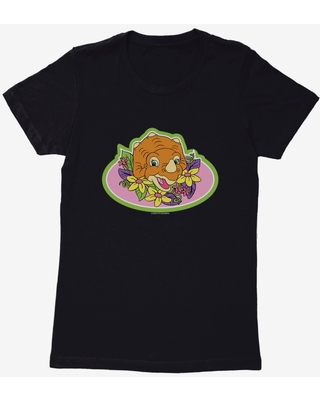 The Land Before Time Cera Oval Womens T-Shirt