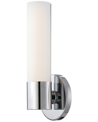 George Kovacs Saber 12 inch Wall Sconce in Chrome